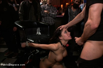 Photo number 7 from Gia DiMarco is Back!!!!! shot for Public Disgrace on Kink.com. Featuring Gia DiMarco, Mr. Pete, James Deen and Princess Donna Dolore in hardcore BDSM & Fetish porn.
