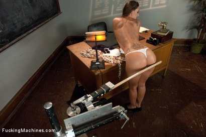 Photo number 3 from HOT: Ass Spanked, Deeply Fucked and Machine Heaven all in The Same Girl shot for Fucking Machines on Kink.com. Featuring Melissa Jacobs in hardcore BDSM & Fetish porn.