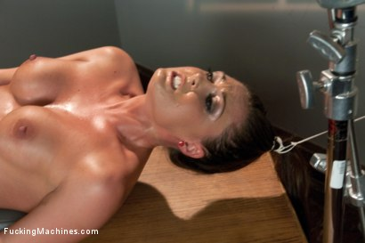 Photo number 8 from HOT: Ass Spanked, Deeply Fucked and Machine Heaven all in The Same Girl shot for Fucking Machines on Kink.com. Featuring Melissa Jacobs in hardcore BDSM & Fetish porn.