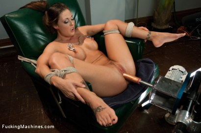 Photo number 12 from HOT: Ass Spanked, Deeply Fucked and Machine Heaven all in The Same Girl shot for Fucking Machines on Kink.com. Featuring Melissa Jacobs in hardcore BDSM & Fetish porn.