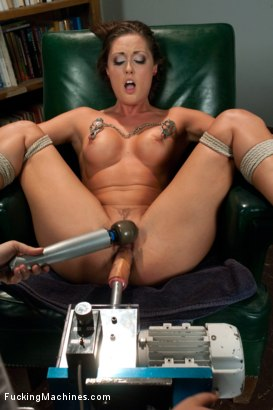 Photo number 11 from HOT: Ass Spanked, Deeply Fucked and Machine Heaven all in The Same Girl shot for Fucking Machines on Kink.com. Featuring Melissa Jacobs in hardcore BDSM & Fetish porn.