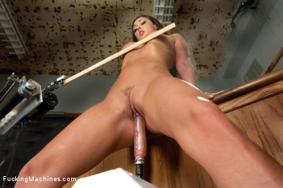 Photo number 5 from FUCKINGMACHINES CLASSIC: Squirting Damsel Machine Fucked in Bondage shot for Fucking Machines on Kink.com. Featuring Melissa Jacobs in hardcore BDSM & Fetish porn.