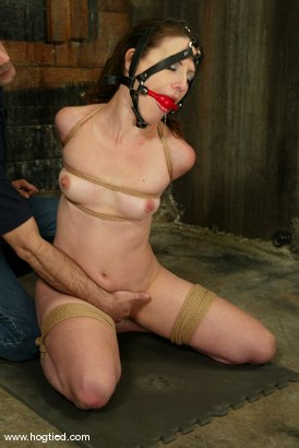 Photo number 6 from Lena Ramon and Tyher shot for Hogtied on Kink.com. Featuring Lena Ramon and Tyher in hardcore BDSM & Fetish porn.