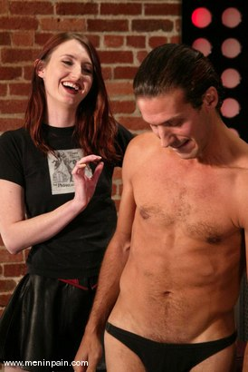 Photo number 15 from Sebastian and Kendra James shot for Men In Pain on Kink.com. Featuring Sebastian and Kendra James in hardcore BDSM & Fetish porn.