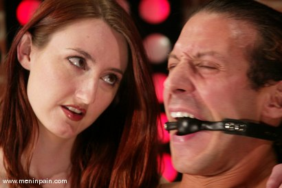 Photo number 8 from Sebastian and Kendra James shot for Men In Pain on Kink.com. Featuring Sebastian and Kendra James in hardcore BDSM & Fetish porn.