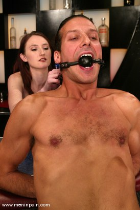 Photo number 9 from Sebastian and Kendra James shot for Men In Pain on Kink.com. Featuring Sebastian and Kendra James in hardcore BDSM & Fetish porn.