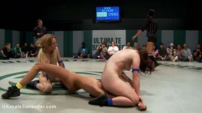 Photo number 12 from BATTLE OF THE FEATHERWEIGHTS!: Final round, non-scripted brutality! Best REAL wrestling on the net. shot for Ultimate Surrender on Kink.com. Featuring Isis Love, Serena Blair, Emma Haize, Gia DiMarco and Lyla Storm in hardcore BDSM & Fetish porn.