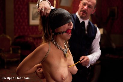 Photo number 14 from Audrey Rose Returns shot for The Upper Floor on Kink.com. Featuring Audrey Rose and Maestro Stefanos in hardcore BDSM & Fetish porn.