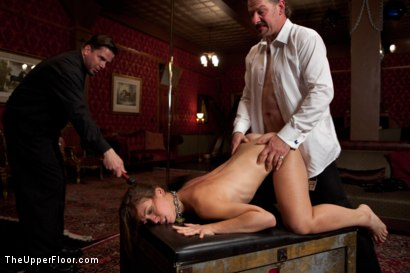 Photo number 16 from Audrey Rose Returns shot for The Upper Floor on Kink.com. Featuring Audrey Rose and Maestro Stefanos in hardcore BDSM & Fetish porn.