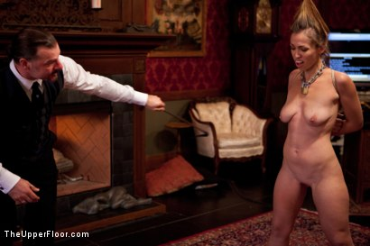 Photo number 3 from Audrey Rose Returns shot for The Upper Floor on Kink.com. Featuring Audrey Rose and Maestro Stefanos in hardcore BDSM & Fetish porn.