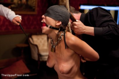 Photo number 12 from Audrey Rose Returns shot for The Upper Floor on Kink.com. Featuring Audrey Rose and Maestro Stefanos in hardcore BDSM & Fetish porn.