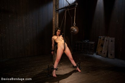 Photo number 8 from Pretty gets punished - double penetration and made to squirt into exhaustion shot for Device Bondage on Kink.com. Featuring Juliette March in hardcore BDSM & Fetish porn.