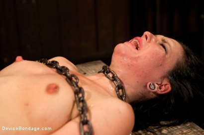 Photo number 14 from Pretty gets punished - double penetration and made to squirt into exhaustion shot for Device Bondage on Kink.com. Featuring Juliette March in hardcore BDSM & Fetish porn.