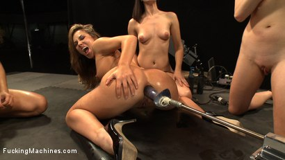 Photo number 4 from Multiple Hands Fisting and Fingering the Same Hole, Machines Pounding: Hall of Fame LIVE Part 2 shot for Fucking Machines on Kink.com. Featuring Kristina Rose, Annie Cruz, Bobbi Starr and Lorelei Lee in hardcore BDSM & Fetish porn.