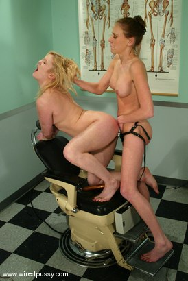 Photo number 14 from Erika Kole and Audrey Leigh shot for Wired Pussy on Kink.com. Featuring Erika Kole and Audrey Leigh in hardcore BDSM & Fetish porn.