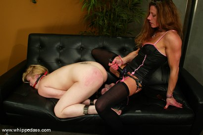 Photo number 9 from Kym Wilde and Erika Kole shot for Whipped Ass on Kink.com. Featuring Erika Kole and Kym Wilde in hardcore BDSM & Fetish porn.