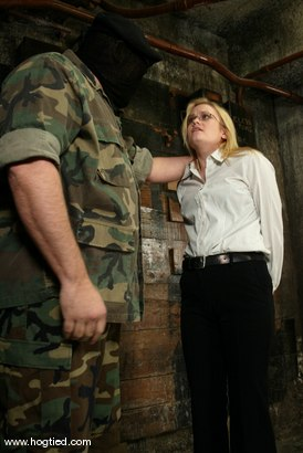 Photo number 1 from Erika Kole, Sgt. Major and Emma Hui shot for Hogtied on Kink.com. Featuring Erika Kole, Sgt. Major and Emma Hui in hardcore BDSM & Fetish porn.