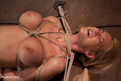 Photo number 10 from How do you like your precious snowflake? We like them choking on dick & cumming like a slut! So sad. shot for Hogtied on Kink.com. Featuring Blake Rose in hardcore BDSM & Fetish porn.