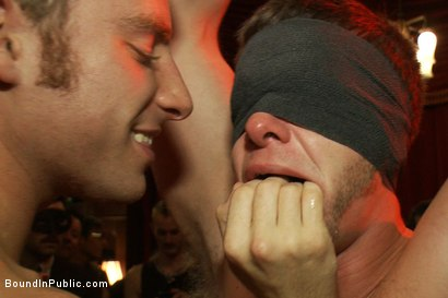 Photo number 7 from Live Shoot: It's the best Xmas Party ever!!! shot for Bound in Public on Kink.com. Featuring Christian Wilde, Brian Bonds and Derek Pain in hardcore BDSM & Fetish porn.
