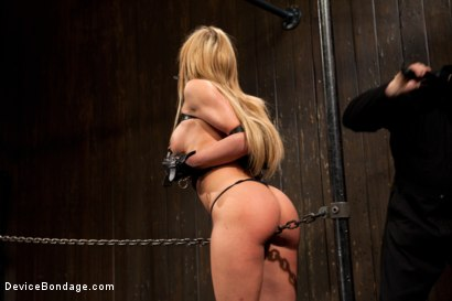 Photo number 2 from Squirt Alert! From the ass that keeps on taking shot for Device Bondage on Kink.com. Featuring Amy Brooke in hardcore BDSM & Fetish porn.
