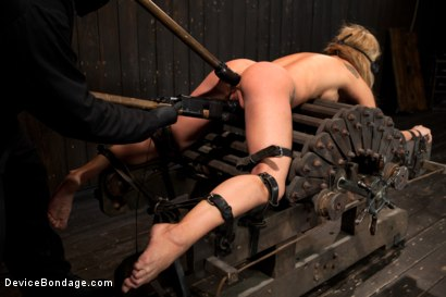 Photo number 7 from Squirt Alert! From the ass that keeps on taking shot for Device Bondage on Kink.com. Featuring Amy Brooke in hardcore BDSM & Fetish porn.