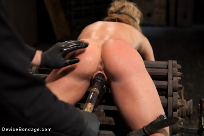 Photo number 9 from Squirt Alert! From the ass that keeps on taking shot for Device Bondage on Kink.com. Featuring Amy Brooke in hardcore BDSM & Fetish porn.