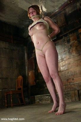 Photo number 4 from Ginger shot for Hogtied on Kink.com. Featuring Ginger in hardcore BDSM & Fetish porn.
