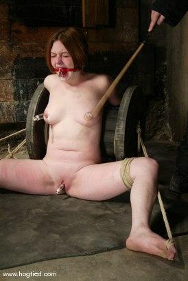 Photo number 14 from Ginger shot for Hogtied on Kink.com. Featuring Ginger in hardcore BDSM & Fetish porn.