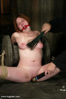 Photo number 15 from Ginger shot for Hogtied on Kink.com. Featuring Ginger in hardcore BDSM & Fetish porn.