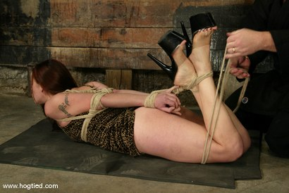Photo number 3 from Carly shot for Hogtied on Kink.com. Featuring Carly in hardcore BDSM & Fetish porn.