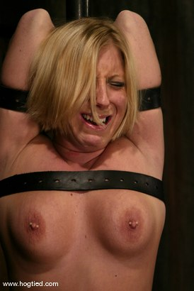 Photo number 8 from Crystal Frost shot for Hogtied on Kink.com. Featuring Crystal Frost in hardcore BDSM & Fetish porn.