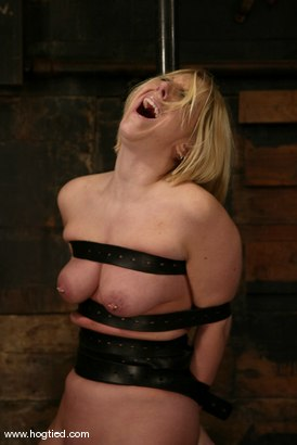 Photo number 7 from Crystal Frost shot for Hogtied on Kink.com. Featuring Crystal Frost in hardcore BDSM & Fetish porn.