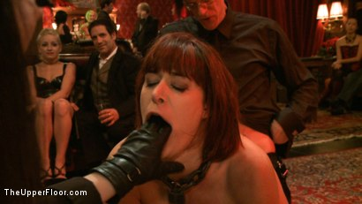 Photo number 17 from Cocktail Party: Squirting shot for The Upper Floor on Kink.com. Featuring Dylan Ryan, Maestro Stefanos and Odile in hardcore BDSM & Fetish porn.