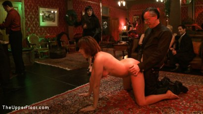 Photo number 18 from Cocktail Party: Squirting shot for The Upper Floor on Kink.com. Featuring Dylan Ryan, Maestro Stefanos and Odile in hardcore BDSM & Fetish porn.