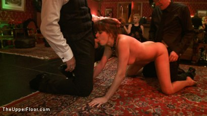 Photo number 19 from Cocktail Party: Squirting shot for The Upper Floor on Kink.com. Featuring Dylan Ryan, Maestro Stefanos and Odile in hardcore BDSM & Fetish porn.