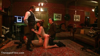 Photo number 20 from Cocktail Party: Squirting shot for The Upper Floor on Kink.com. Featuring Dylan Ryan, Maestro Stefanos and Odile in hardcore BDSM & Fetish porn.