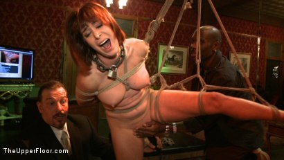 Photo number 6 from Cocktail Party: Squirting shot for The Upper Floor on Kink.com. Featuring Dylan Ryan, Maestro Stefanos and Odile in hardcore BDSM & Fetish porn.