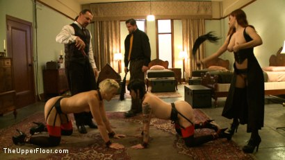 Photo number 11 from Service Session<br>Fisted for the first time shot for The Upper Floor on Kink.com. Featuring Iona Grace, Dylan Ryan, Maestro Stefanos and Sparky Sin Claire in hardcore BDSM & Fetish porn.