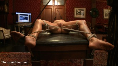 Photo number 7 from Service Session<br>Testing o shot for The Upper Floor on Kink.com. Featuring Odile in hardcore BDSM & Fetish porn.
