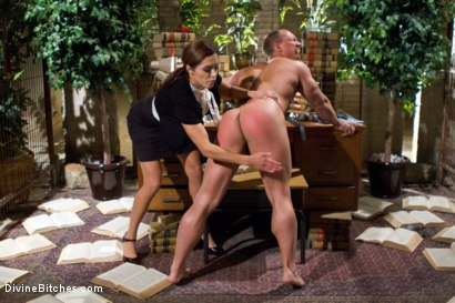 Photo number 2 from Mistress Francesca Le shot for Divine Bitches on Kink.com. Featuring Francesca Le  and John Magnum in hardcore BDSM & Fetish porn.
