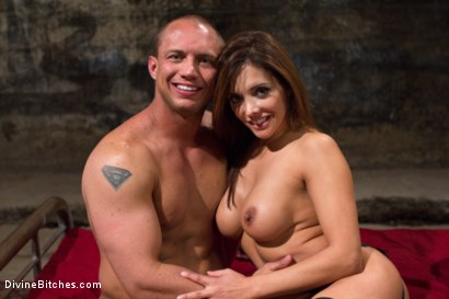 Photo number 10 from Mistress Francesca Le shot for Divine Bitches on Kink.com. Featuring Francesca Le  and John Magnum in hardcore BDSM & Fetish porn.