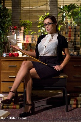 Photo number 8 from Mistress Francesca Le shot for Divine Bitches on Kink.com. Featuring Francesca Le  and John Magnum in hardcore BDSM & Fetish porn.