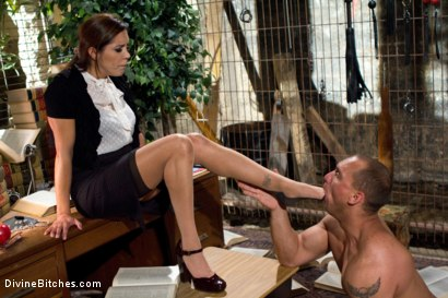 Photo number 1 from Mistress Francesca Le shot for Divine Bitches on Kink.com. Featuring Francesca Le  and John Magnum in hardcore BDSM & Fetish porn.
