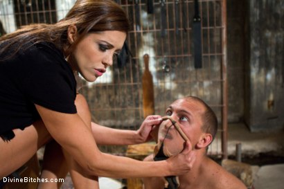 Photo number 11 from Mistress Francesca Le shot for Divine Bitches on Kink.com. Featuring Francesca Le  and John Magnum in hardcore BDSM & Fetish porn.