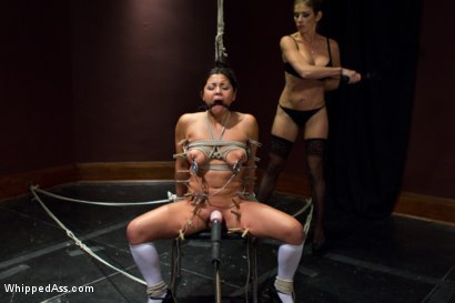 Photo number 5 from The Professor's Wife shot for Whipped Ass on Kink.com. Featuring Felony and Adrianna Luna in hardcore BDSM & Fetish porn.