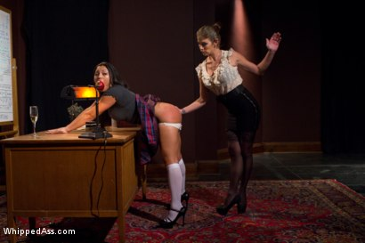 Photo number 2 from The Professor's Wife shot for Whipped Ass on Kink.com. Featuring Felony and Adrianna Luna in hardcore BDSM & Fetish porn.