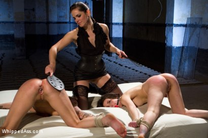 Photo number 11 from For Bobbi Starr's Satisfaction shot for Whipped Ass on Kink.com. Featuring Bobbi Starr, Juliette March and Jessie Cox in hardcore BDSM & Fetish porn.