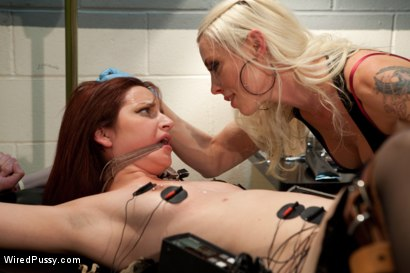 Photo number 5 from Your Doctor Doesn't Always Know Best shot for Wired Pussy on Kink.com. Featuring Lorelei Lee and Phoenix Askani in hardcore BDSM & Fetish porn.