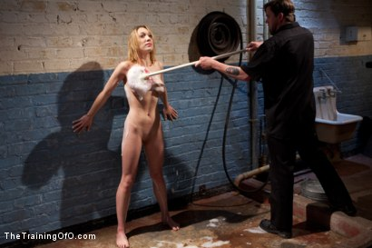 Photo number 14 from Training Lilly LaBeau<br>Day 1-Evaluating the Slave shot for The Training Of O on Kink.com. Featuring Lily LaBeau in hardcore BDSM & Fetish porn.