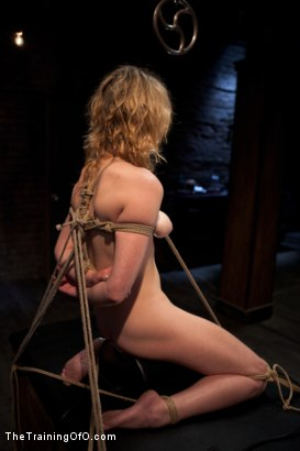Photo number 5 from Training Lilly LaBeau<br>Day 1-Evaluating the Slave shot for The Training Of O on Kink.com. Featuring Lily LaBeau in hardcore BDSM & Fetish porn.